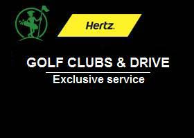 Exclusive service: rent your car and drive with your golf bag in the boot !